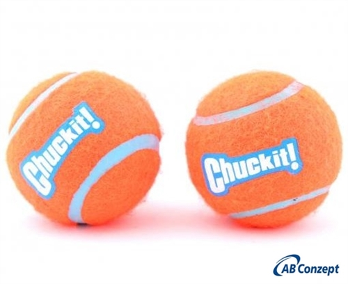 Chuckit Tennis Ball 2 stk<br>Medium